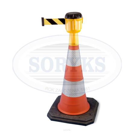 PTOP77 Traffic cone with high top