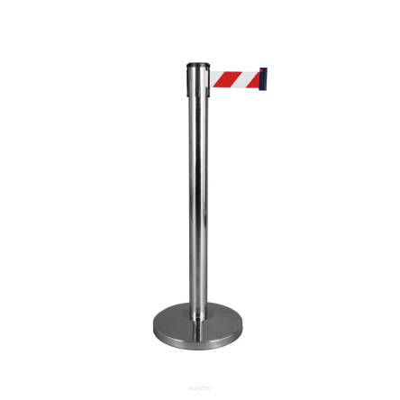 63T300 Barrier post with tape length max. 3 m